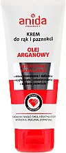 Parfums et Produits cosmétiques Crème à l'huile d'argan pour les mains et ongles - Anida Pharmacy Argan Oil Hand Cream