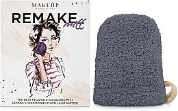 Parfums et Produits cosmétiques Gant démaquillant ReMake, gris, 15x12cm - MakeUp