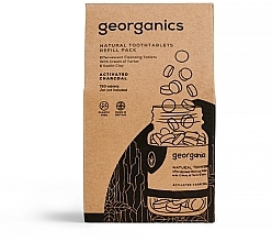 Parfums et Produits cosmétiques Comprimés de nettoyage des dents au charbon actif (recharge) - Georganics Natural Toothtablets Activated Charcoal