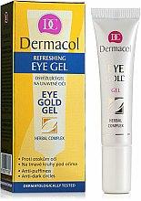 Parfums et Produits cosmétiques Gel contour des yeux anti-cernes - Dermacol Eye Gold Gel