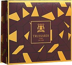 Parfums et Produits cosmétiques Trussardi Uomo The Red - Coffret (eau de toilette/50ml + gel douche/100ml)