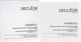 Parfums et Produits cosmétiques Masque tissu éclaircissant à l'extrait de jasmin pour visage - Decleor Aurabsolu Intense Glow Mask
