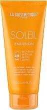 Parfums et Produits cosmétiques Émulsion solaire pour corps et visage - La Biosthetique Soleil Emulsion SPF 25