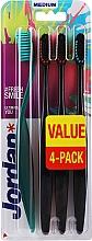 Parfums et Produits cosmétiques Brosses à dents, médium, vert, noir - Jordan Ultimate You Medium