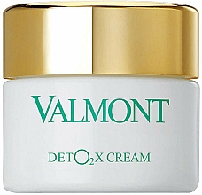 Parfums et Produits cosmétiques Crème à l'oxygène pour visqge - Valmont Deto2x Cream
