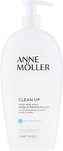 Parfums et Produits cosmétiques Fluide démaquillant visage et yeux - Anne Moller Pro-Defense Makeup Remover Fluid Face and Eyes