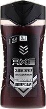 Parfums et Produits cosmétiques Gel douche 3 en 1 visage, corps et cheveux pour homme - Axe Carbon Shower Gel