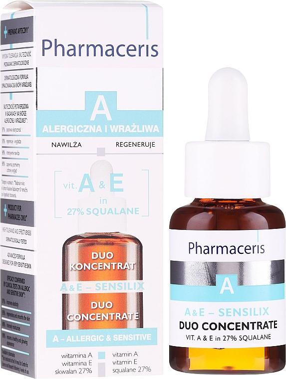 Concentré aux vitamines A et E pour le visage - Pharmaceris A A&E Sensilix Duo Concentrate