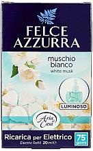 Parfums et Produits cosmétiques Recharge pour diffuseur de parfum électrique Musc blanc - Felce Azzurra White Musk