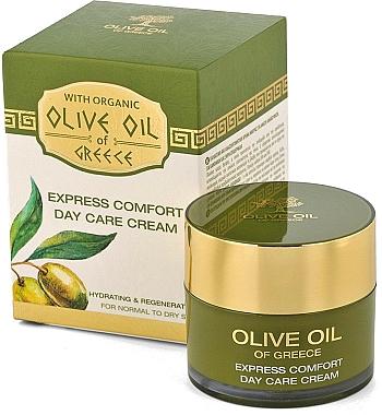 Crème de jour à l'huile d'olive - BioFresh Olive Oil Of Greece Express Comfort Day Care Cream — Photo N1