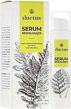 Parfums et Produits cosmétiques Sérum régulateur à l'huile d'arbre à thé, bio-soufre et acide salicylique pour visage - Duetus