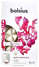 Parfums et Produits cosmétiques Fondants de cire parfumée, Rose et Ambre - Bolsius True Moods Pure Romance Rose & Amber