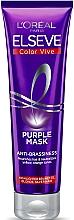 Parfums et Produits cosmétiques Masque anti-jaunissement pour cheveux - L'Oreal Paris Elseve Purple