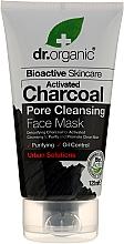 Parfums et Produits cosmétiques Masque nettoyant au charbon actif pour visage - Dr. Organic Bioactive Skincare Activated Charcoal Pore Cleansing Face Mask