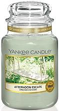 Parfums et Produits cosmétiques Bougie parfumée en jarre, Après-midi d'évasion - Yankee Candle Afternoon Escape