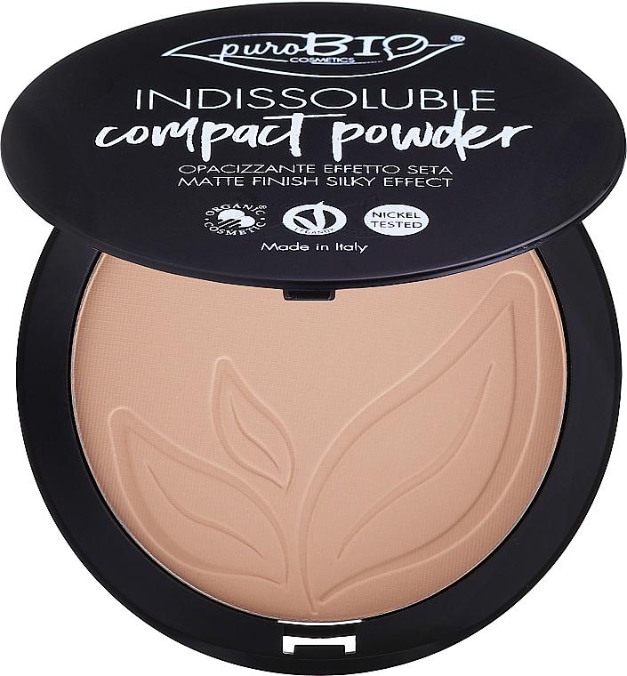 Poudre compacte pour visage - PuroBio Cosmetics Compact Powder