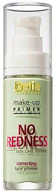 Base de maquillage verte -correcteur - Delia Cosmetics No Redness Make Up Primer