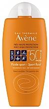 Parfums et Produits cosmétiques Fluide solaire waterproof - Avene Solaire Fluide Sport SPF 50+