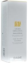 Parfums et Produits cosmétiques Crème émolliente pour peaux atopiques - Babe Laboratorios Emollient Cream