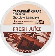 Parfums et Produits cosmétiques Gommage corporel au sucre, chocolat et massepain - Fresh Juice Chocolate and Marzipan