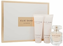 Parfums et Produits cosmétiques Elie Saab Le Parfum - Coffret (eau de parfum/50ml + lait corporel/75ml + crème de douche/75ml)
