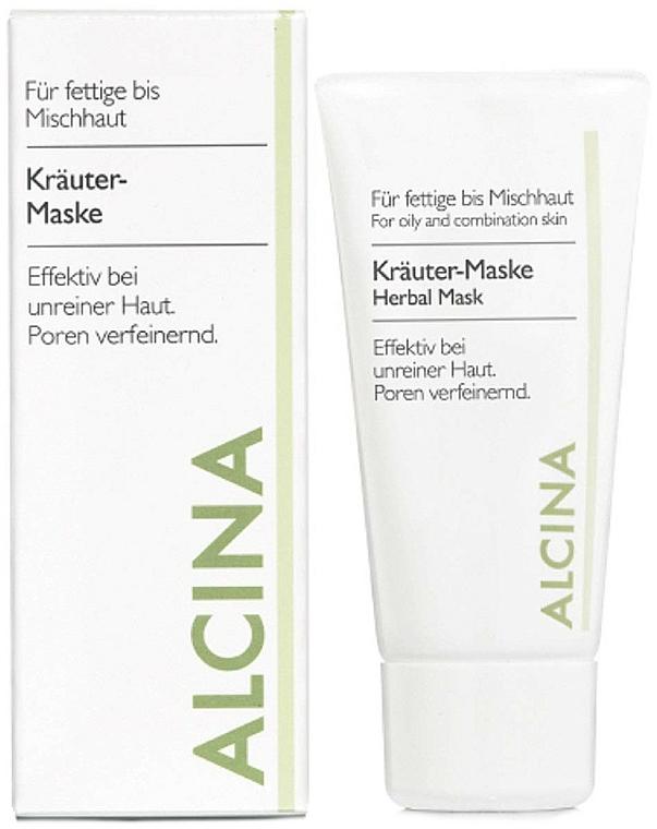 Masque à l'huile de lavande pour visage - Alcina Herbal Mask — Photo N1
