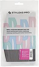 Parfums et Produits cosmétiques Lot de recharges pour lime à ongles croissant, grain 150, DFE-40-150, 30 pcs - Staleks Pro