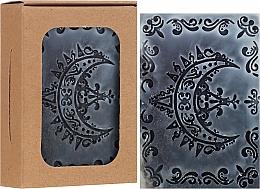 Parfums et Produits cosmétiques Savon naturel artisanal au charbon actif, Croissant - Wooden Spoon Bar Soap