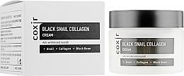 Parfums et Produits cosmétiques Crème à la bave d'escargot pour visage - Coxir Black Snail Collagen Cream Anti-Wrinkle And Nourish