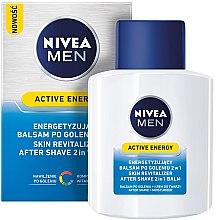 Parfums et Produits cosmétiques Baume après-rasage revitalisant et énergisant - Nivea For Men Active Energy Skin Revitalizer After Shave Balm