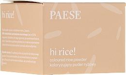Parfums et Produits cosmétiques Poudre de riz matifiante - Paese Hi Rice Coloured Rice Powder