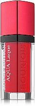 Parfums et Produits cosmétiques Rouge à lèvres hydratant Brillance intense - Bourjois Rouge Edition Aqua Laque