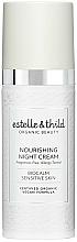 Parfums et Produits cosmétiques Crème de nuit anti-fatigue à l'extrait de sureau noir - Estelle & Thild BioCalm Nourishing Night Cream