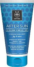 Parfums et Produits cosmétiques Crème-gel après-soleil à la figue pour visage et corps - Apivita Sunbody After Sun Cooling Cream-Gel