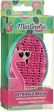 Parfums et Produits cosmétiques Brosse à cheveux démêlante, rose-turquoise - Martinelia