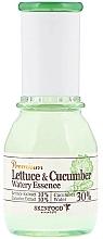 Parfums et Produits cosmétiques Essence aux extraits de laitue et concombre pour visage - SkinFood Premium Lettuce & Cucumber Watery Essence