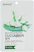 Parfums et Produits cosmétiques Masque tissu au concombre pour visage - Eunyul Natural Moisture Mask Pack