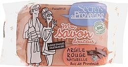 Parfums et Produits cosmétiques Savon douceur à l'argile rouge naturelle - Secrets De Provence My Soap Bar Wood Of Provence Perfume