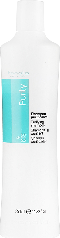 Shampooing aux extraits de romarin et thym - Fanola Purity Anti-Dandruff Shampoo