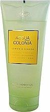 Parfums et Produits cosmétiques Maurer & Wirtz 4711 Aqua Colognia Lemon & Ginger - Gel douche Citron et Gingembre