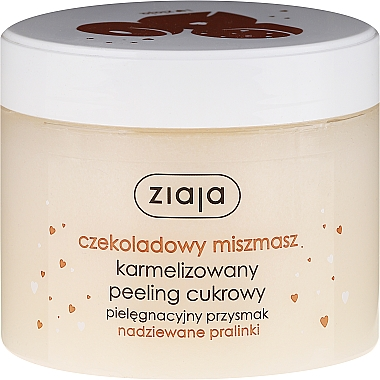 "Peeling corporel au sucre ""Praliné au chocolat"" - Ziaja Sugar Body Peeling"