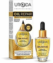 Parfums et Produits cosmétiques Huile aux huiles d'argan et marula pour visage et cou - Uroda Professional Oil Repair Natural Essence