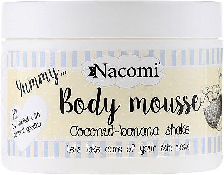 Mousse à la noix de coco et banane pour corps - Nacomi Body Mousse Coconut-Banana Shake