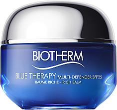 Parfums et Produits cosmétiques Crème aux algues pour visage SPF 25 - Biotherm Blue Therapy Multi Defender SPF 25