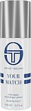 Parfums et Produits cosmétiques Sergio Tacchini Your Match - Déodorant spray parfumé