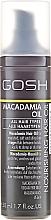 Parfums et Produits cosmétiques Huile de macadamia pour cheveux - Gosh Macadamia Oil