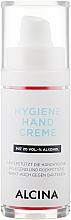 Parfums et Produits cosmétiques Crème antibactérienne à l'alcool pour mains - Alcina Hygiene Hand Creme