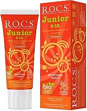 Parfums et Produits cosmétiques Dentifrice, Arc-en-ciel de fruits - R.O.C.S. Junior