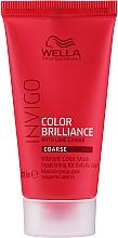 Parfums et Produits cosmétiques Masque couleur éclatante pour cheveux - Wella Professionals Invigo Color Brilliance Vibrant Color Mask Coarse