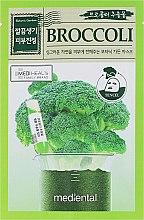 Parfums et Produits cosmétiques Masque en tissu à l'extrait de brocoli pour visage - Mediental Botanic Garden Mask